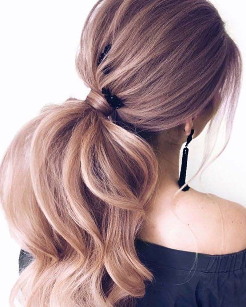 Girl With Ponytail Coloring Page Beautiful Hairstyle 2019