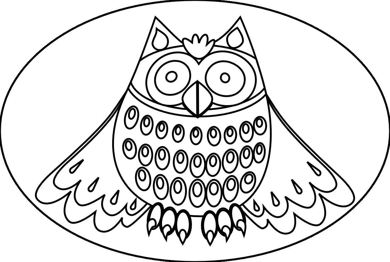 Cute Owl Coloring Pages For Kids | Colour It | Owl Coloring