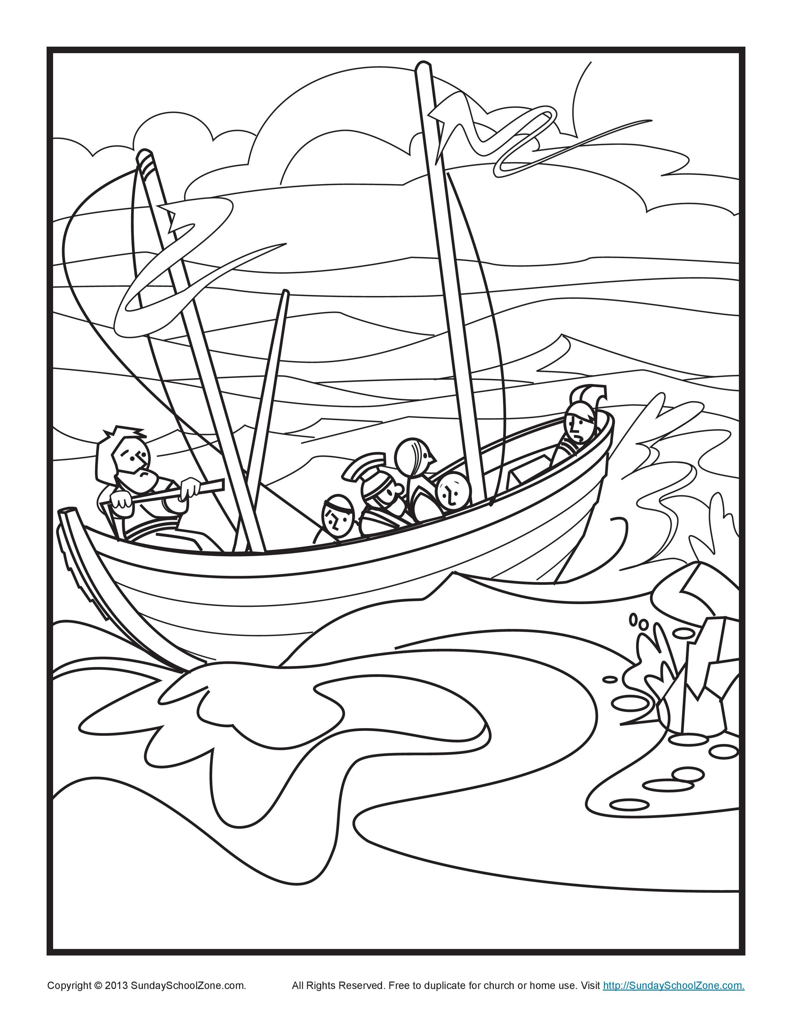 Bible Coloring Pages | Sunday School | Bible Coloring Pages
