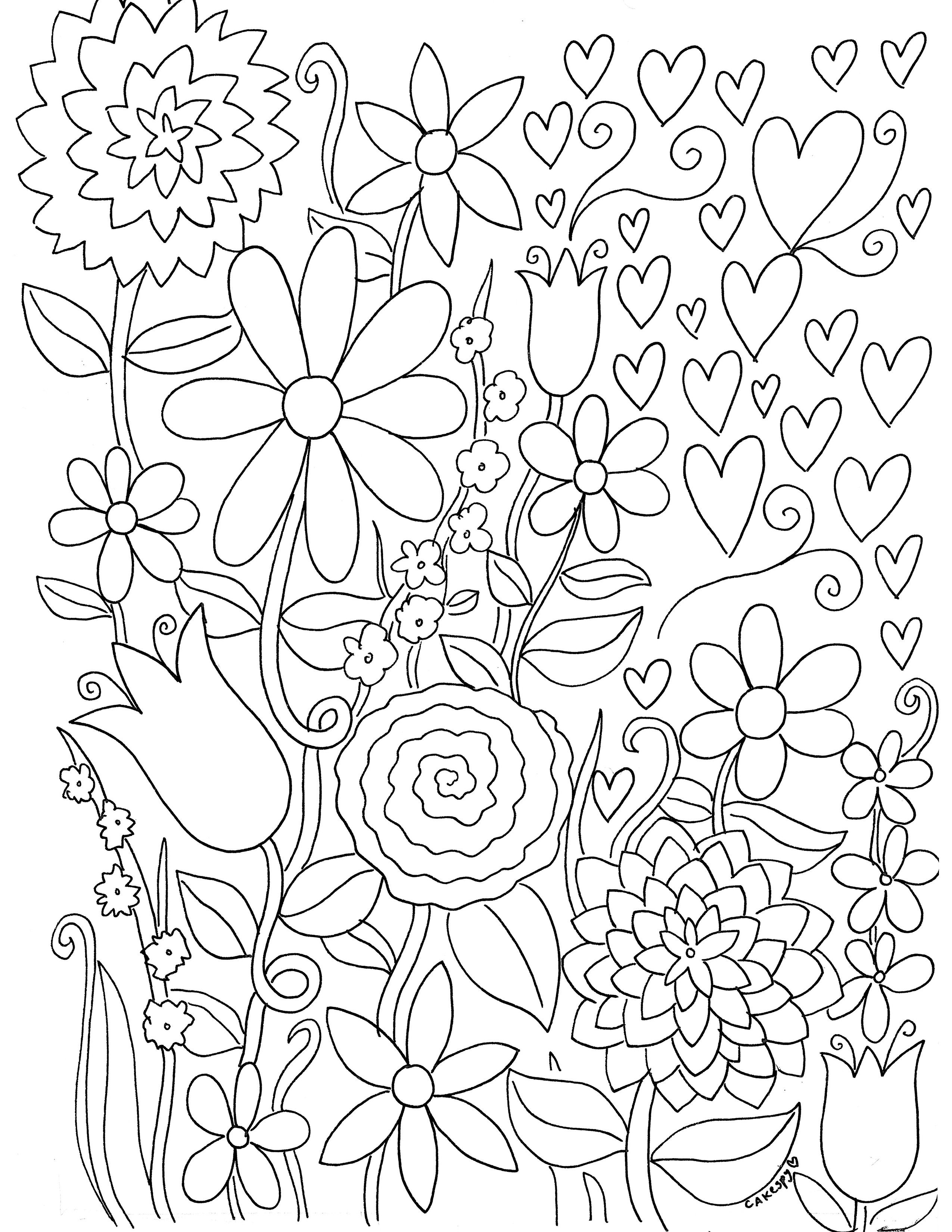 Free Coloring Book Pages For Adults | Color My World