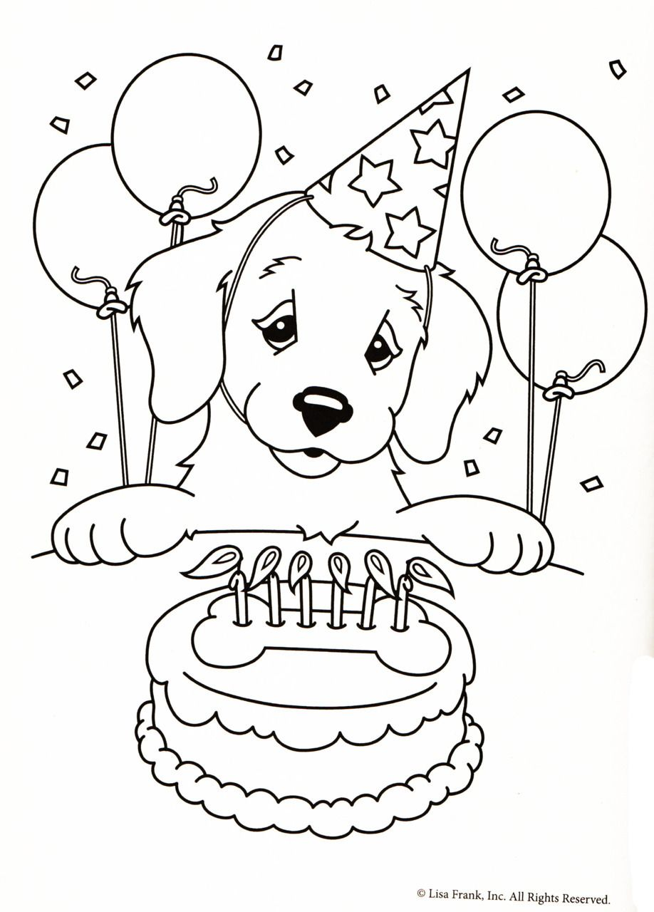 Lisa Frank Coloring Pages New Color Me   Dog   Puppy