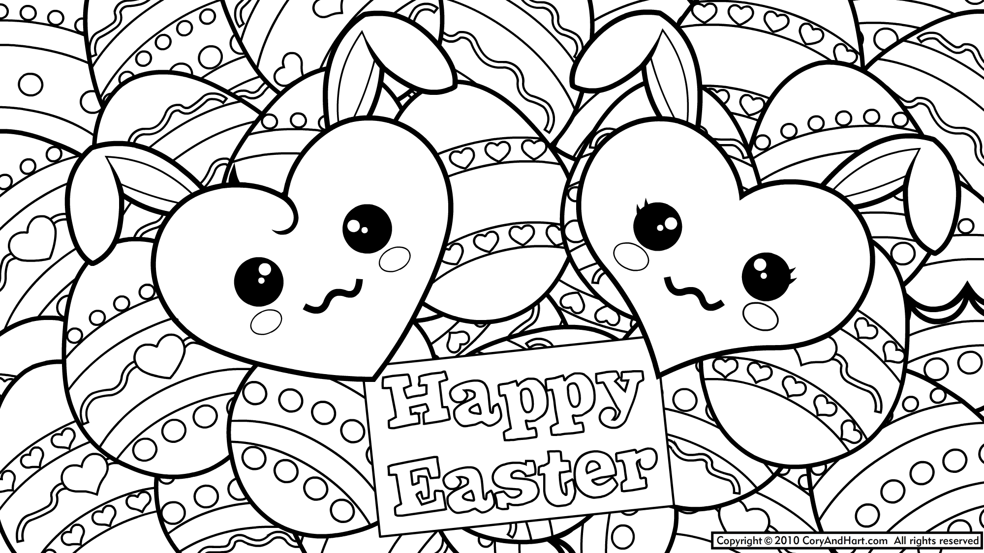 Easter Coloring Pages To Print |  Sunday? Here We Added