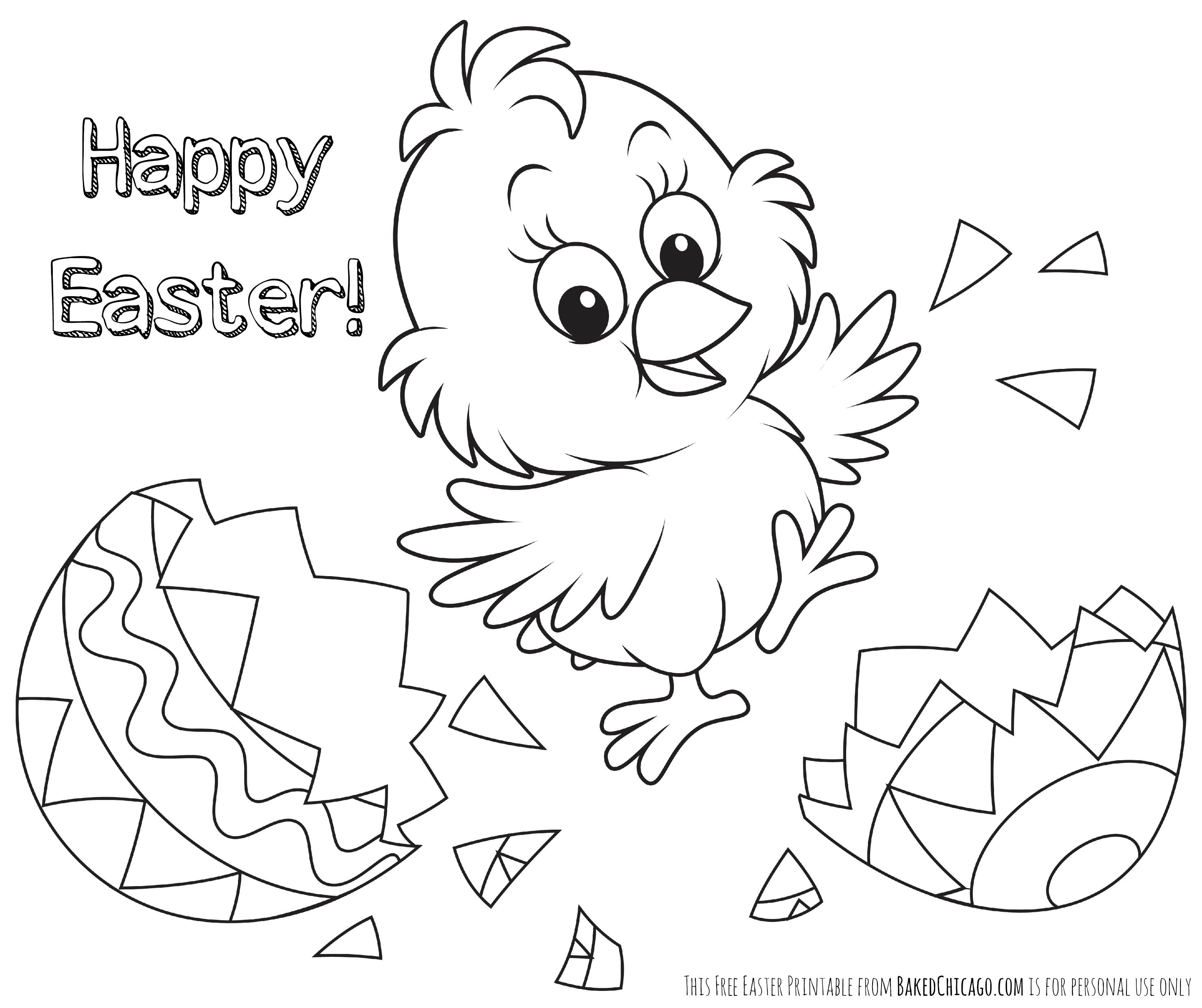 Easter Coloring Pages Printable Bloodbrothers Me Colouring