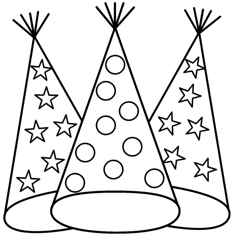 Pin By Linda Bingham On Coloring Pages   New Year Coloring