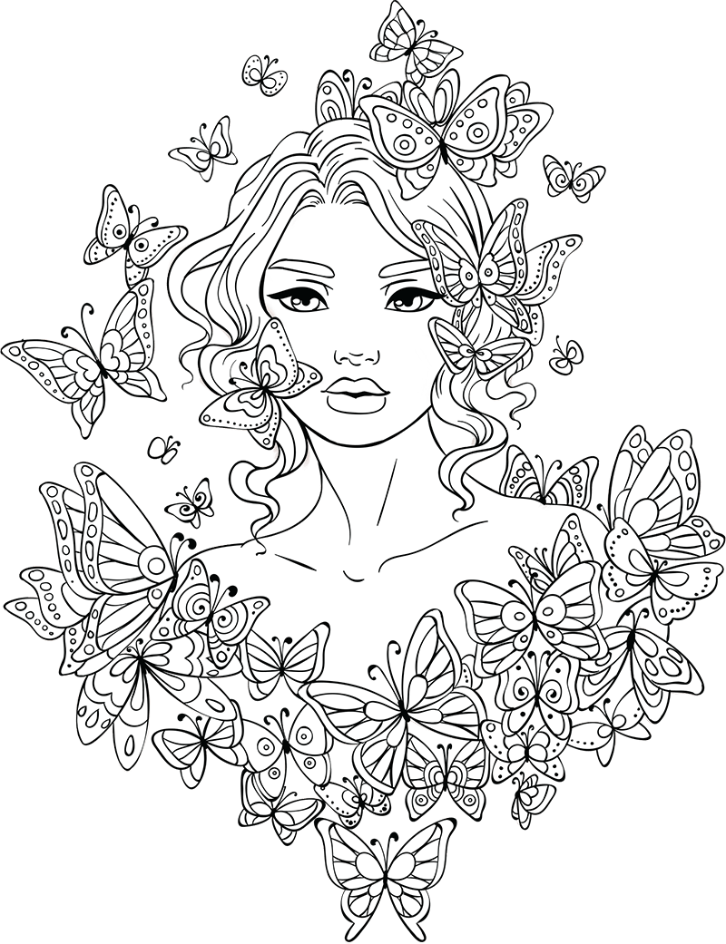 Coloring Pages For Teens | Adult Coloring~ | Free Adult