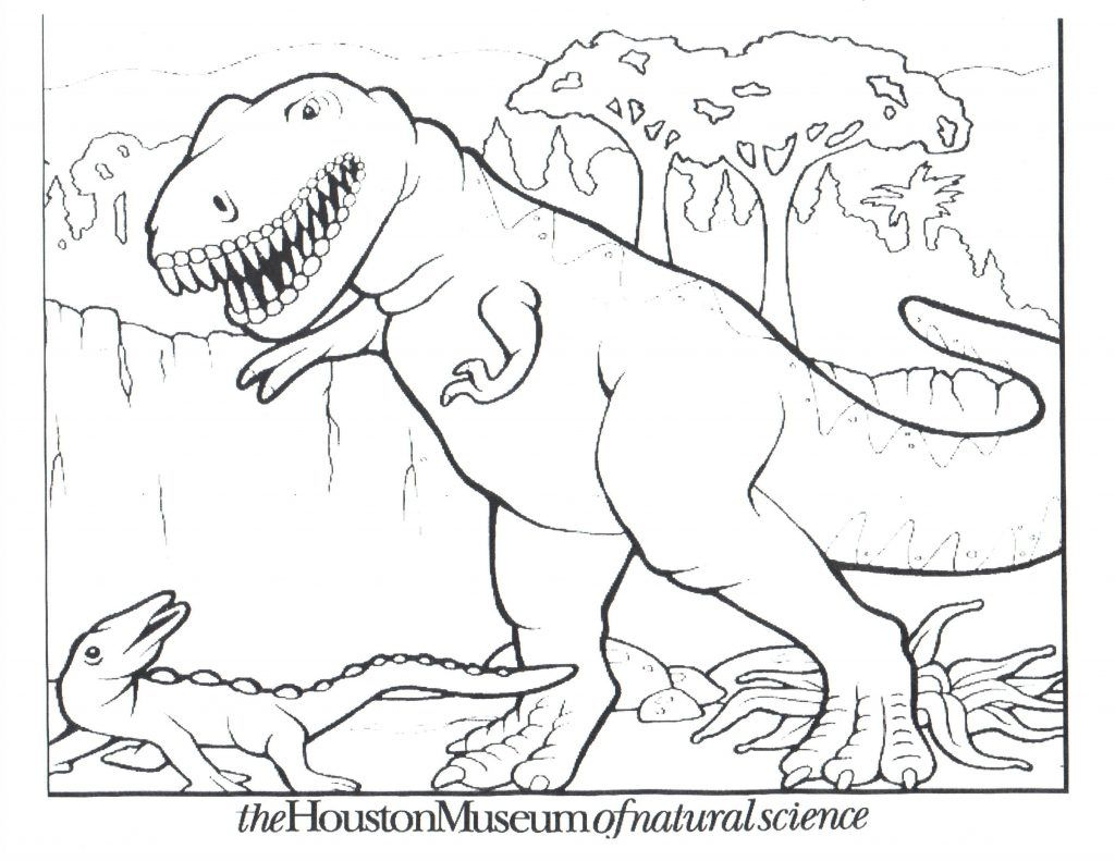 Free Printable Dinosaur Coloring Pages For Kids | Dinosaur