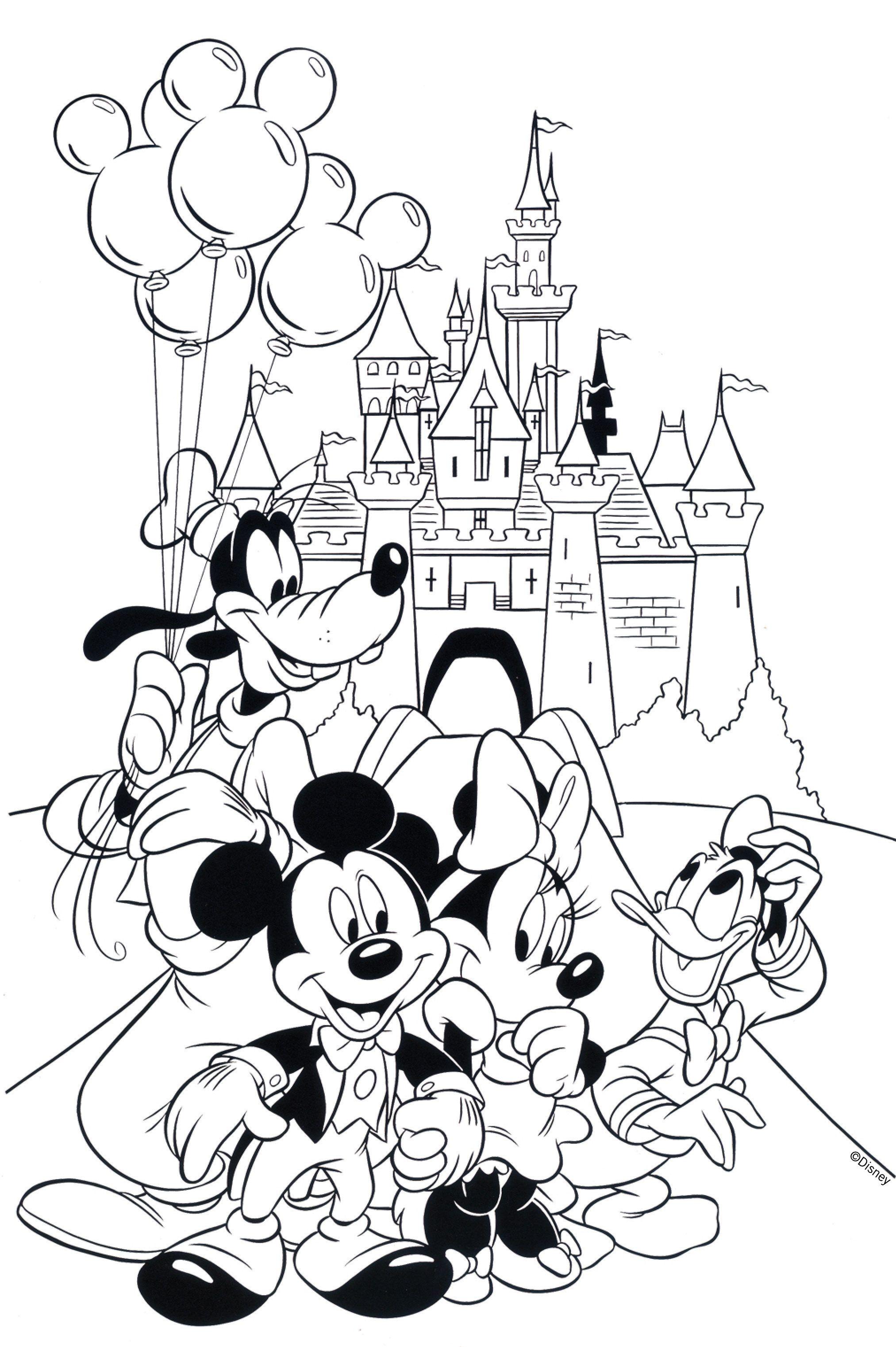Free Disney Coloring Page! #printable | Crafts | Coloring