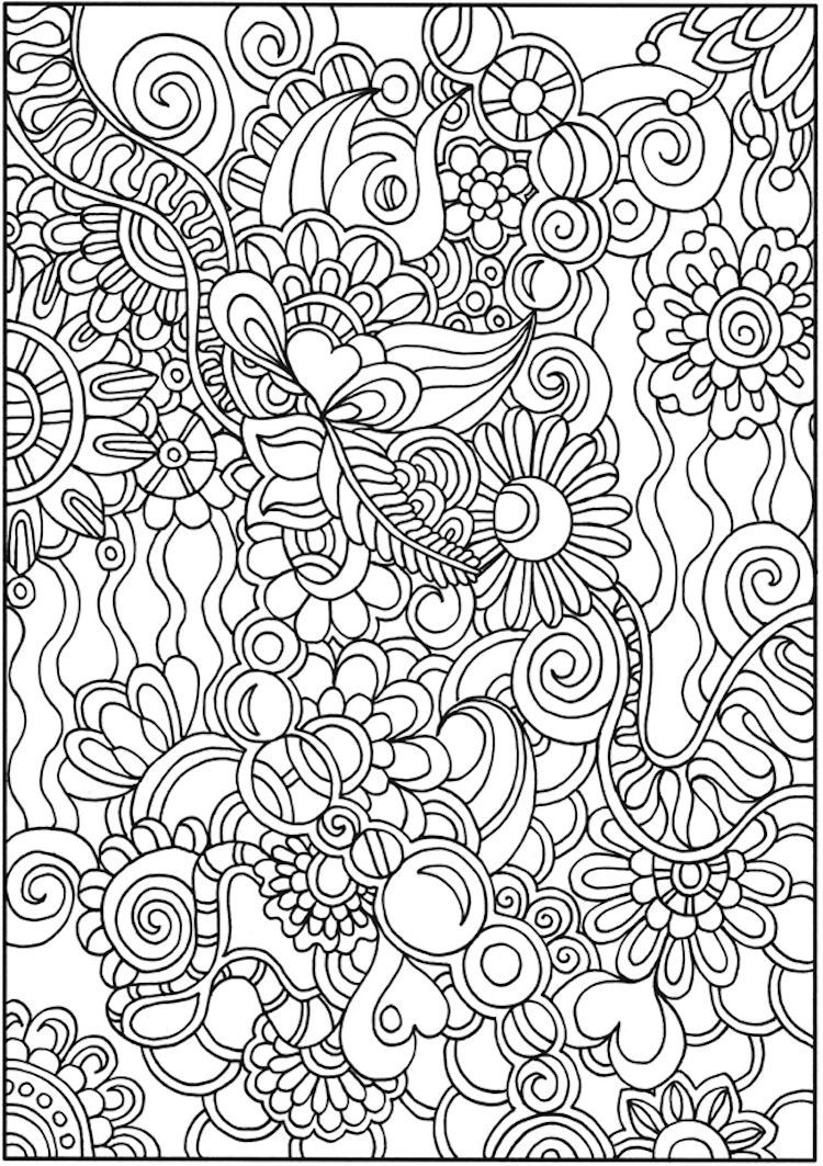 Dover Creative Haven Dream Doodles Coloring Page 5