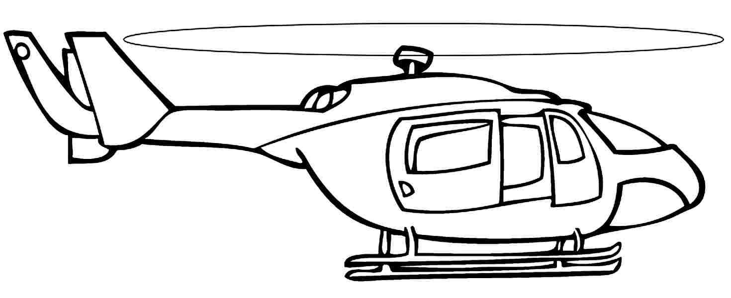 Printable Helicopter Coloring Pages 2   Projects To Try