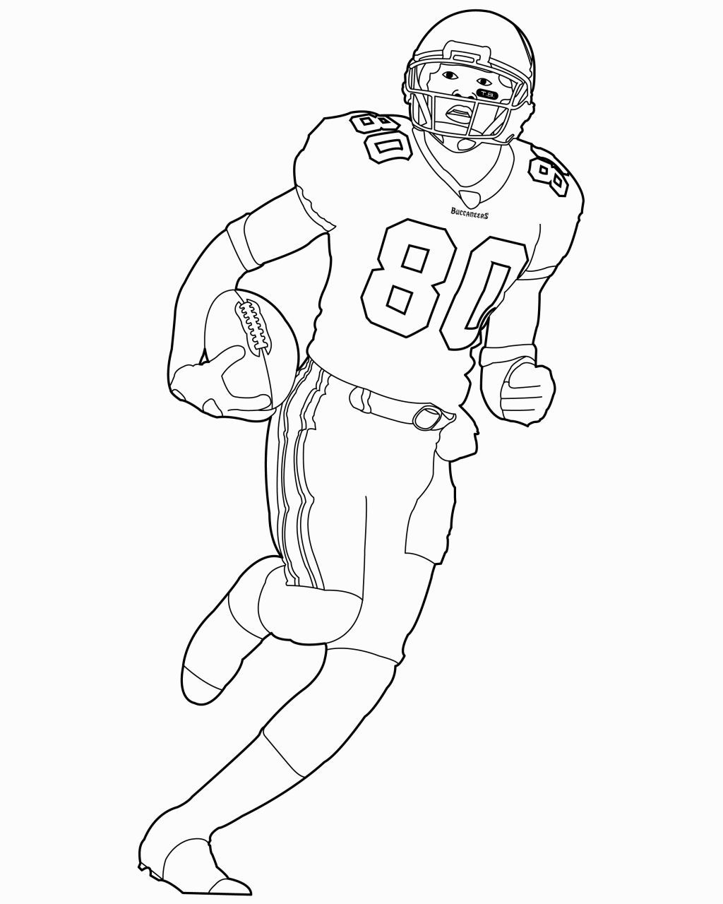 Football Coloring Pages Nfl | Coloring Pages | Football