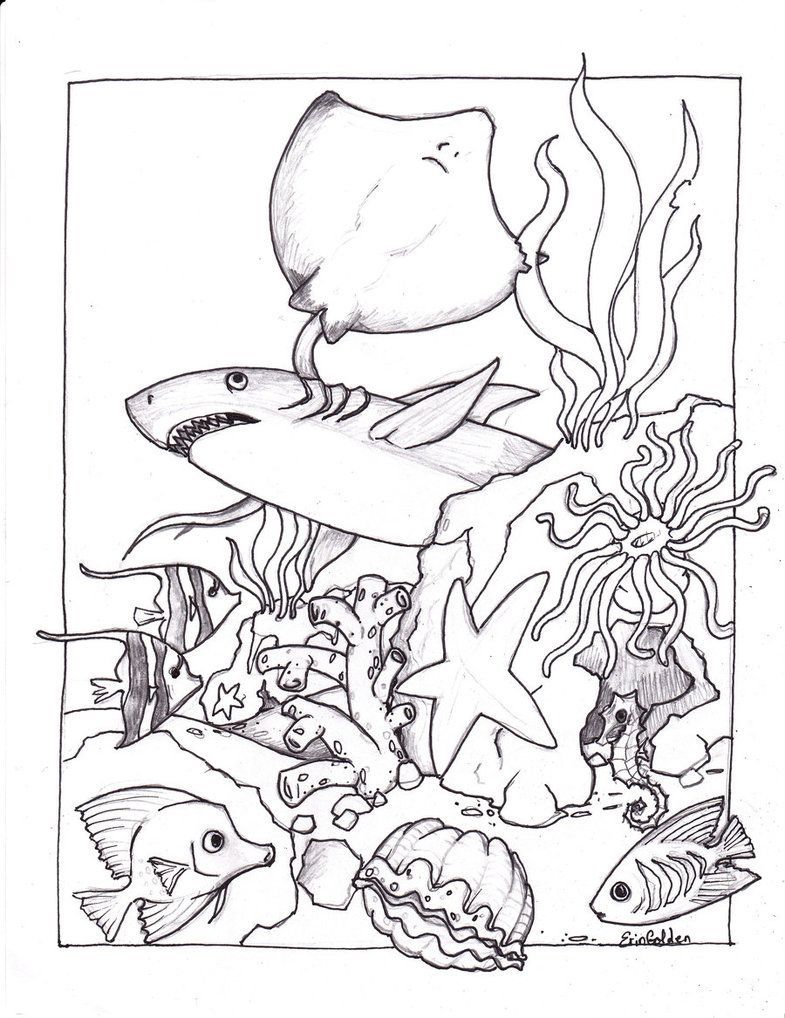 Free Printable Ocean Coloring Pages For Kids | Sand & Water